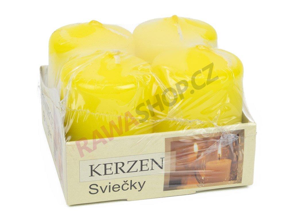 Adventní svíčky - citrónová
