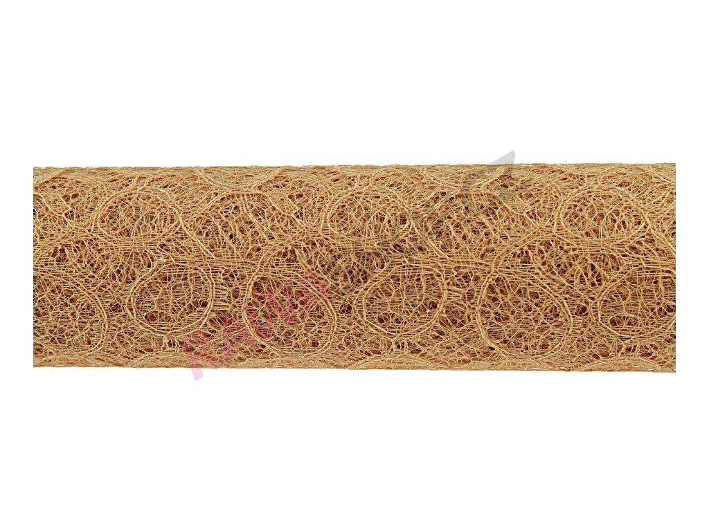 Loop mesh 50cm - béžová