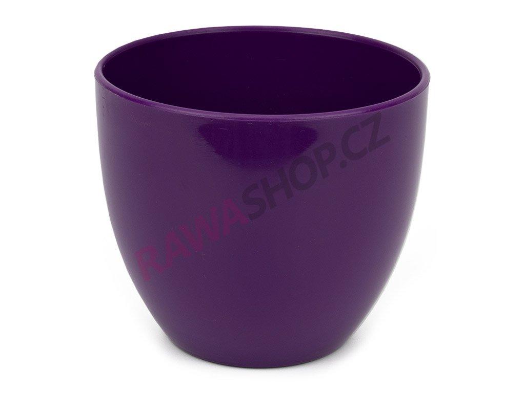Plastový obal Sevilla ∅ 11cm - tmavě fialová