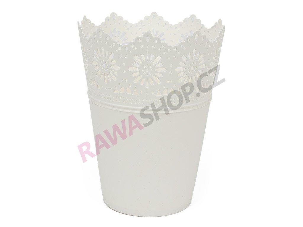 Plastový obal Corona 2 - bílá