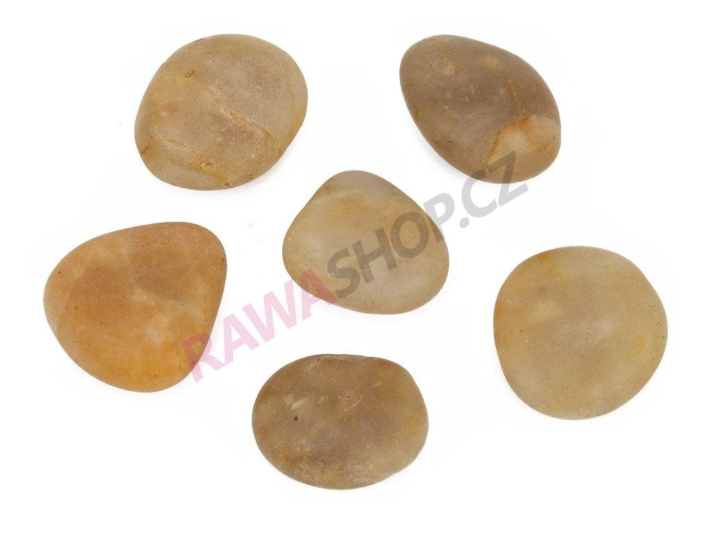 Kameny říční - žlutá