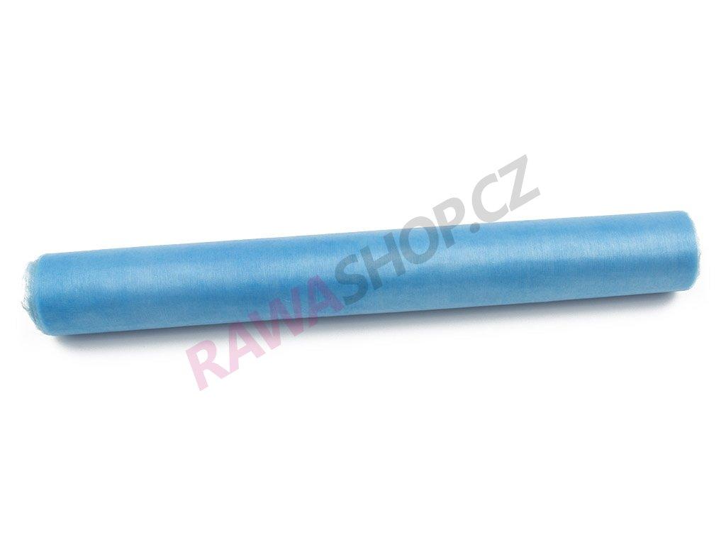 Organza 36 cm - světle modrá