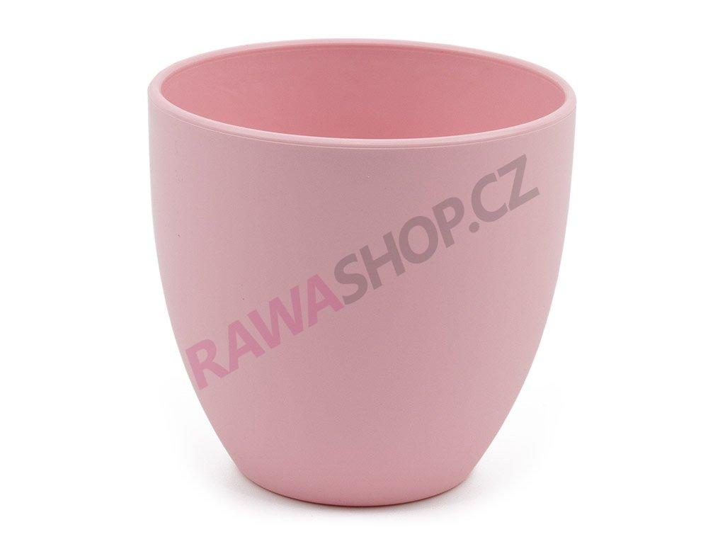 Plastový obal Sevilla ∅ 11cm - růžová
