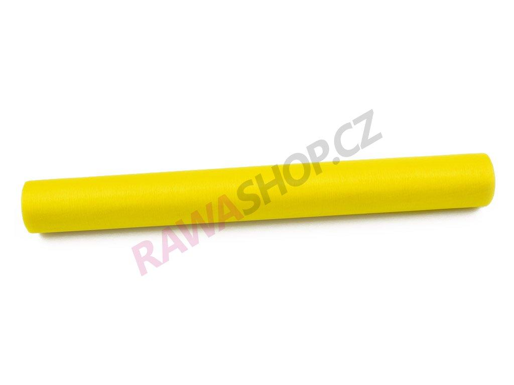Organza 36 cm - jarní žlutá