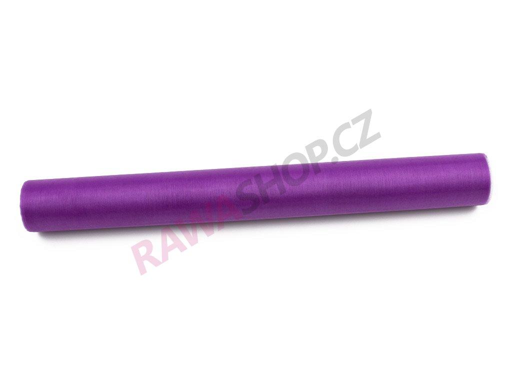 Organza 36 cm - fialová