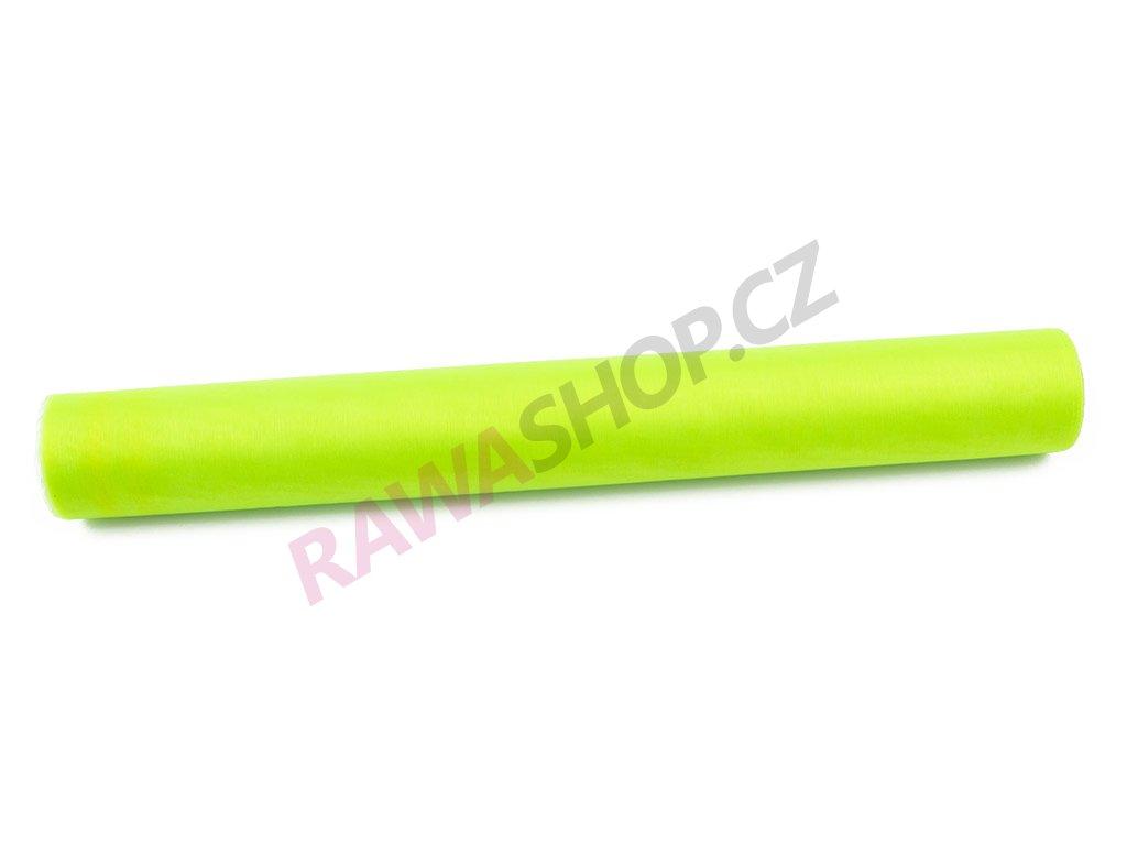 Organza 36 cm - jarní zelená