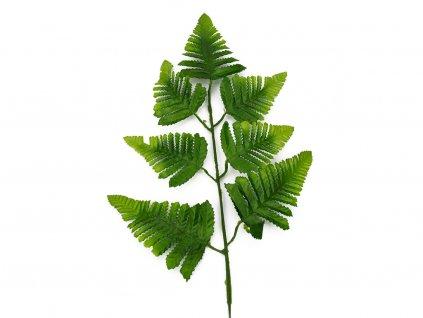 List kapradí 45cm 12ks - zelená
