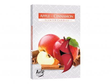 2. Čajové svíčky 6 ks Apple cinnamon