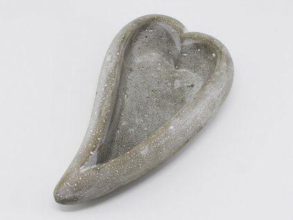 Betonová mistička - srdce 2