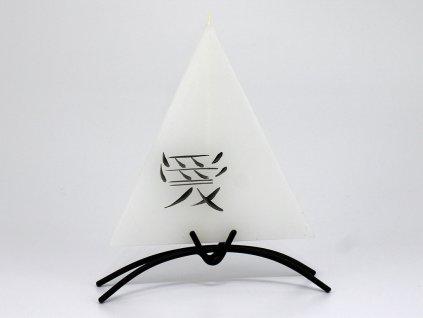 Plochá svíčka Asia
