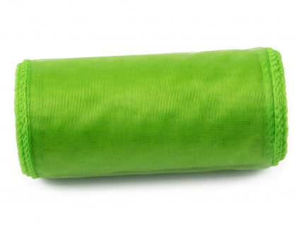 Organza 12 cm - apple green