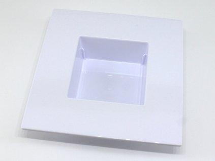 Plastový obal ikebana - čtverec