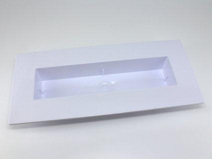 Plastový obal ikebana - obdélník