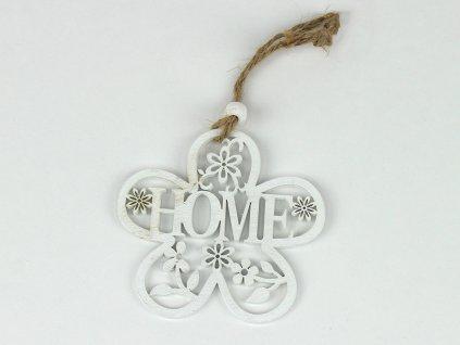 Dekorace home 2ks - květina