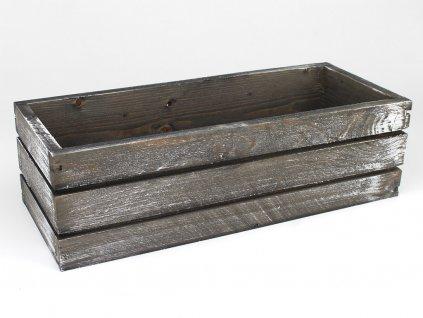Dřevěný truhlík malý