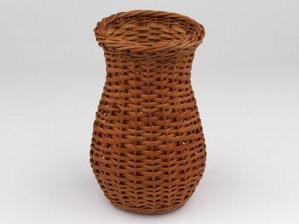 Proutěná váza malá