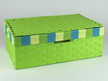 Kufřík provázkový 5ks - zelený