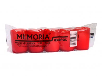 6. Hřbitovní svíčky Memoria p30 5ks BP30