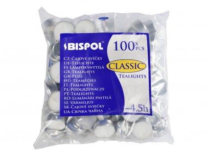 5. Čajové svíčky CLASSIC 100ks BP15 100