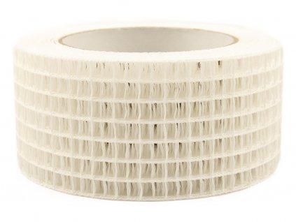 Děrovaná stuha 5cm - bílá