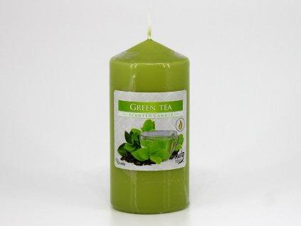 Svíčka válec 60/120 - zelený čaj