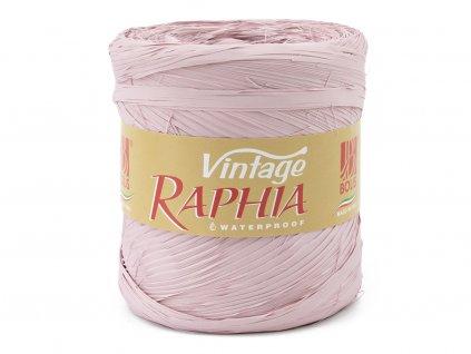 Lýko Raphia - starorůžová