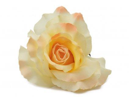 Růže 13cm- béžová