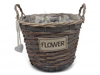 Obal na květiny FLOWER - kulatý 3ks