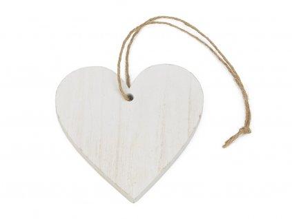 Dřevěné srdce 10cm