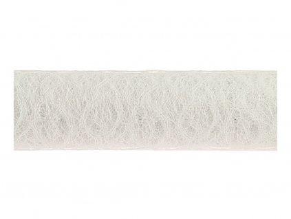 Loop mesh 50cm - bílá