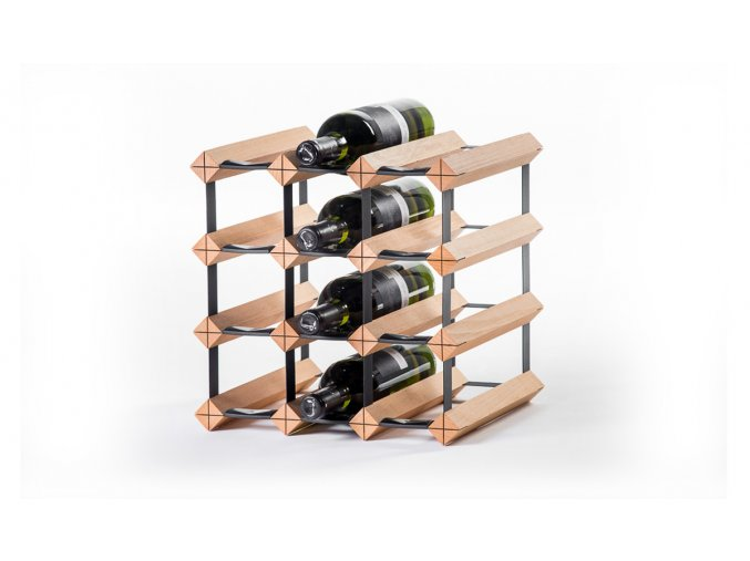 310 stojan na vino s kapacitou 12 lahvi