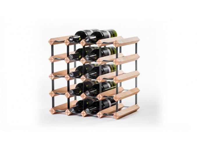 313 stojan na vino s kapacitou 20 lahvi
