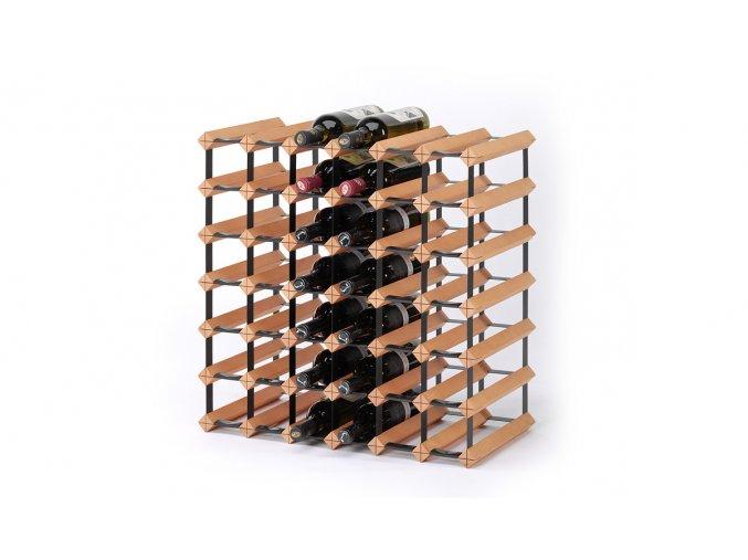 322 stojan na vino s kapacitou 42 lahvi