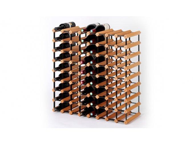 325 stojan na vino s kapacitou 72 lahvi