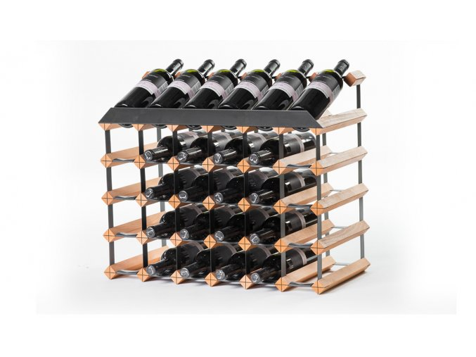 352 pultovy stojan na vino s kapacitou 30 lahvi