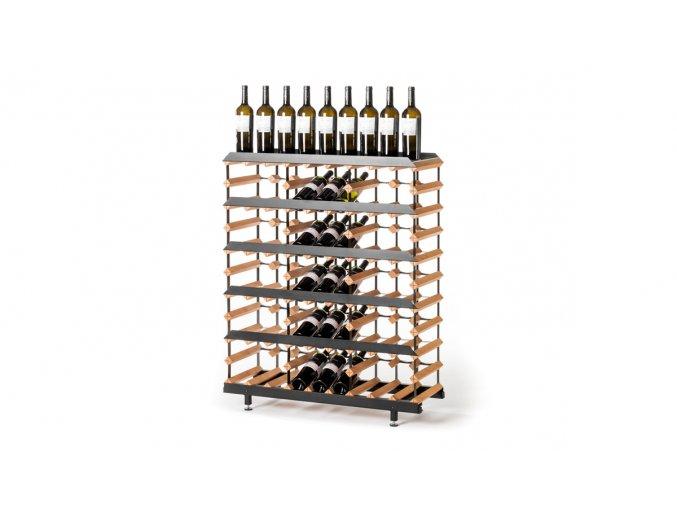 361 prezentacni stojan na vino s kapacitou 45 lahvi