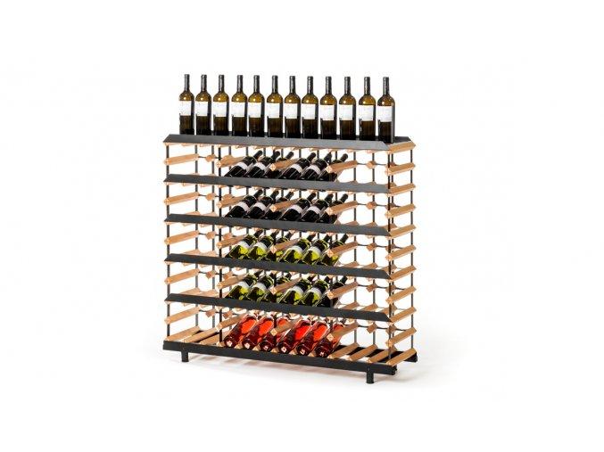 364 prezentacni stojan na vino s kapacitou 60 lahvi