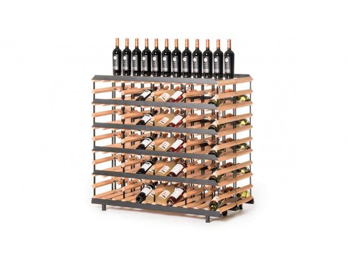 367 prezentacni stojan na vino s kapacitou 120 lahvi