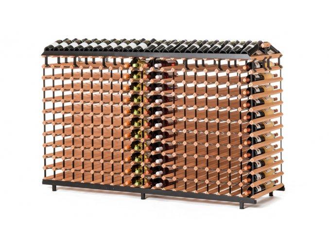 373 stojan na vino na 480 lahvi oboustranny