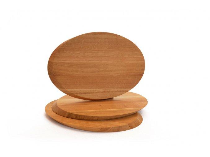 493 2 krajeci ovalna deska na syr z masivniho dubu