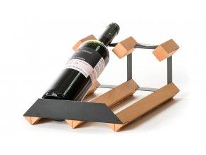 304 1 pultovy stojan na vino s kapacitou 2 lahve