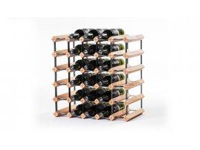 316 stojan na vino s kapacitou 30 lahvi