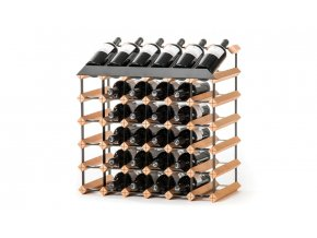 355 pultovy stojan na vino s kapacitou 36 lahvi