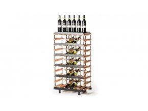 358 prezentacni stojan na vino s kapacitou 30 lahvi