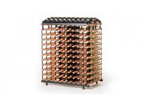 370 stojan na vino s kapacitou 240 lahvi oboustranny