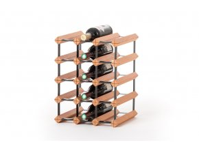 415 stojan na vino s kapacitou 15 lahvi