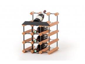 436 stojan na vino pultovy s kapacitou 12 lahvi b