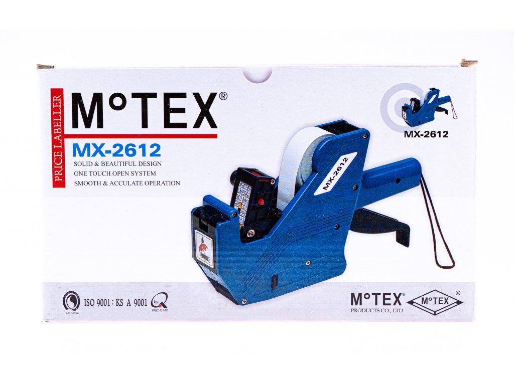Etiketovací kleště MOTEX 2612 - jednořádkové