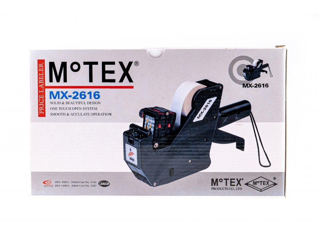 Etiketovací kleště Motex MX 2616 - dvouřádkové