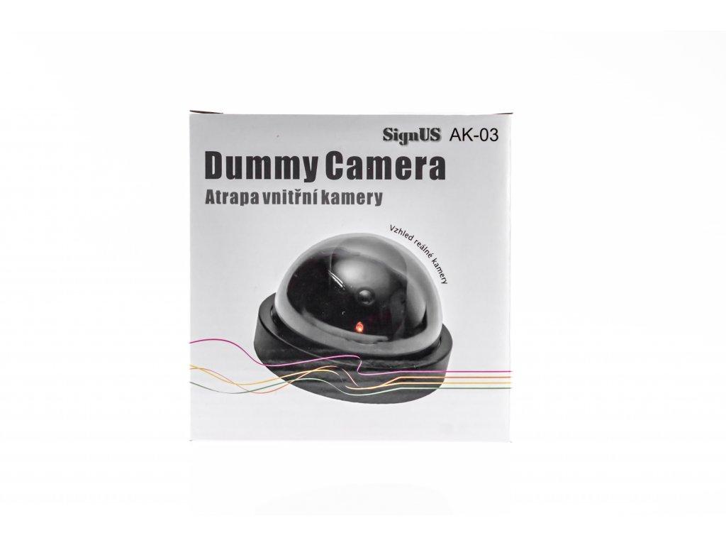 Atrapa kamery dome